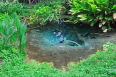 Mineral spring well Royalty Free Stock Photos