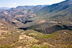 Mineral springs - famous tourist destination, Oaxaca, Mexico Royalty Free Stock Photography