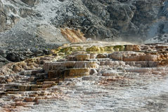 Mineral Steps Royalty Free Stock Photography