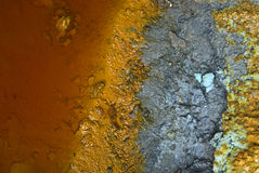 Mineral textures Royalty Free Stock Photos