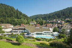 The Mineral Therme in Bad Teinach. Black Forest, Baden-Wurttemberg, Germany, Europe royalty free stock images