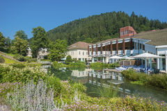The Mineral Therme in Bad Teinach. Black Forest, Baden-Wurttemberg, Germany, Europe royalty free stock image