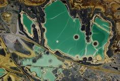 Mineral verde Imágenes de archivo libres de regalías