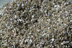 Mineral Vermiculite Samples for Production. Raw Mineral Stock Image