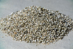 Mineral Vermiculite Samples for Production. Raw Mineral Stock Photos