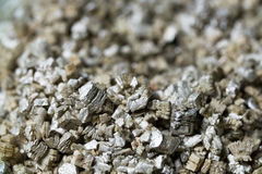 Mineral Vermiculite Samples for Production. Raw Mineral Stock Images
