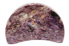 Mineral violeta fotografia de stock