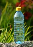 Mineral water in a bottle on a hot day Royalty Free Stock Image
