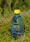 Mineral water in a bottle on a hot day Stock Photo