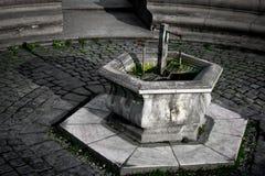 Mineral Water Fountain Timisoara. Mineral water fountain in Piata Unirii, Timisoara, Romania Royalty Free Stock Photo