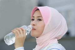 Mineral water - good for health Stock Image