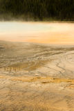 Mineral Water Grand Prismatic Spring Midway Geyser Basin Yellowstone Royalty Free Stock Photo