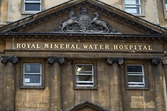 Mineral Water Hospital, Bath, Somerset, England Royalty Free Stock Photo