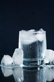 Mineral Water With Ice Royalty Free Stock Photo
