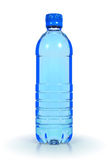 Mineral water in plastic bottle Stock Images
