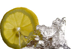 Mineral water splash Royalty Free Stock Photography