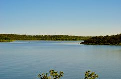 Mineral Wells State Park Lake. A state park lake in Texas Royalty Free Stock Photos