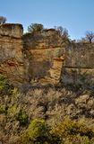 Mineral Wells State Park. Large rocks at the Mineral Wells State Park in Texas Stock Photos
