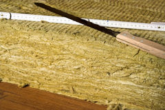 Mineral wool Stock Photos