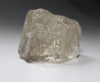 Minerale del quarzo fumoso (Rauchtopaz) Immagini Stock