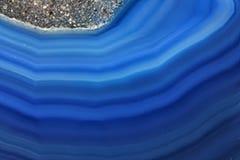 Minerale dell'agata Fotografia Stock Libera da Diritti