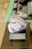 Minerale della molibdenite fotografia stock