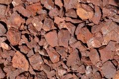 Minerale di ferro Fotografia Stock Libera da Diritti