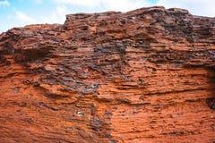 Minerale di ferro di Pilbara Fotografia Stock