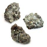 Minerale di uranio Fotografie Stock Libere da Diritti