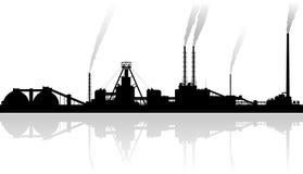 Minerale meststoffeninstallatie Stock Afbeeldingen