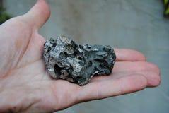 Minerale metallifero del grumo Fotografia Stock Libera da Diritti