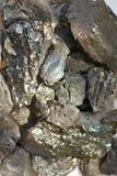 Minerale metallifero della grafite Immagini Stock