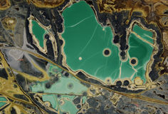 Minerale verde Immagini Stock Libere da Diritti