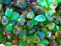 Mineralen van Erongo-bergen dichtbij Swakopmund in Namibië Stock Foto's