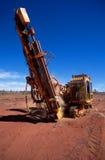 Mineralerforschung Stockbild