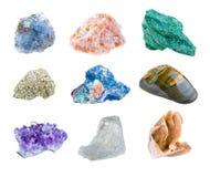 Minerales Imagen de archivo libre de regalías