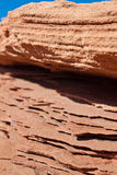 Minerales en rocas Imagen de archivo