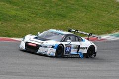 12 minerales Hankook Mugello 18 de marzo de 2017: Motorsport de la colección del coche #34, Audi R8 LMS Fotografía de archivo
