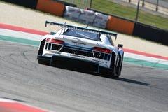 12 minerales Hankook Mugello 18 de marzo de 2017: Motorsport de la colección del coche #34, Audi R8 LMS Foto de archivo libre de regalías