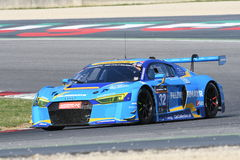 12 minerales Hankook Mugello 18 de marzo de 2017: Motorsport de la colección del coche #34, Audi R8 LMS Fotografía de archivo libre de regalías