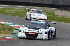 12 minerales Hankook Mugello 18 de marzo de 2017: Motorsport de la colección del coche #34, Audi R8 LMS Fotos de archivo libres de regalías