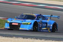 12 minerales Hankook Mugello 18 de marzo de 2017: Motorsport de la colección del coche #34, Audi R8 LMS Fotos de archivo