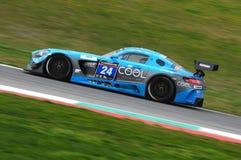 12 minerales Hankook Mugello 18 de marzo de 2017: Motorsport de la colección del coche #34, Audi R8 LMS Imagenes de archivo