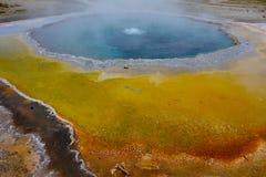 Mineralfärger i den Yellowstone nationalparken Royaltyfria Bilder