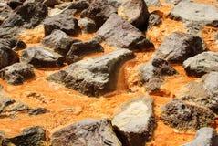 Mineralfrühling Stockfotografie