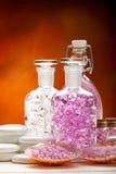 Minerali di wellness e della stazione termale Immagini Stock Libere da Diritti