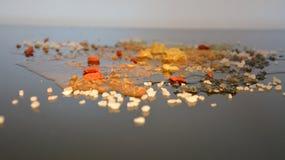 Minerali ed acqua Fotografia Stock