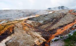 Mineralien in Bewegung Lizenzfreie Stockbilder