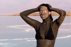 Mineralien des Toten Meers - Israel lizenzfreies stockbild