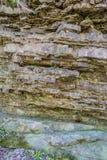 Mineralien - Drucke des alten Lebens stockfotos